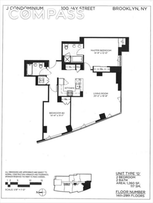 New York City Real Estate | View Jay Street | Floorplan 1