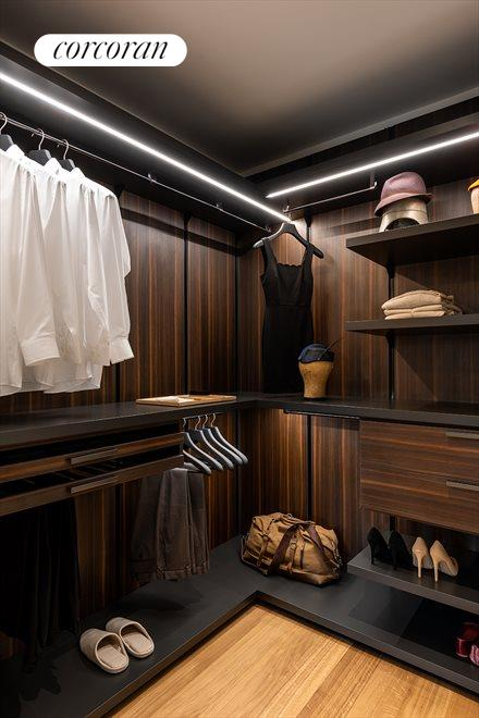New York City Real Estate | View 110 CHARLTON ST, #9C | Walk-in Closet