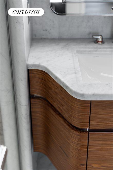 Custom Bathroom Vanity Detail