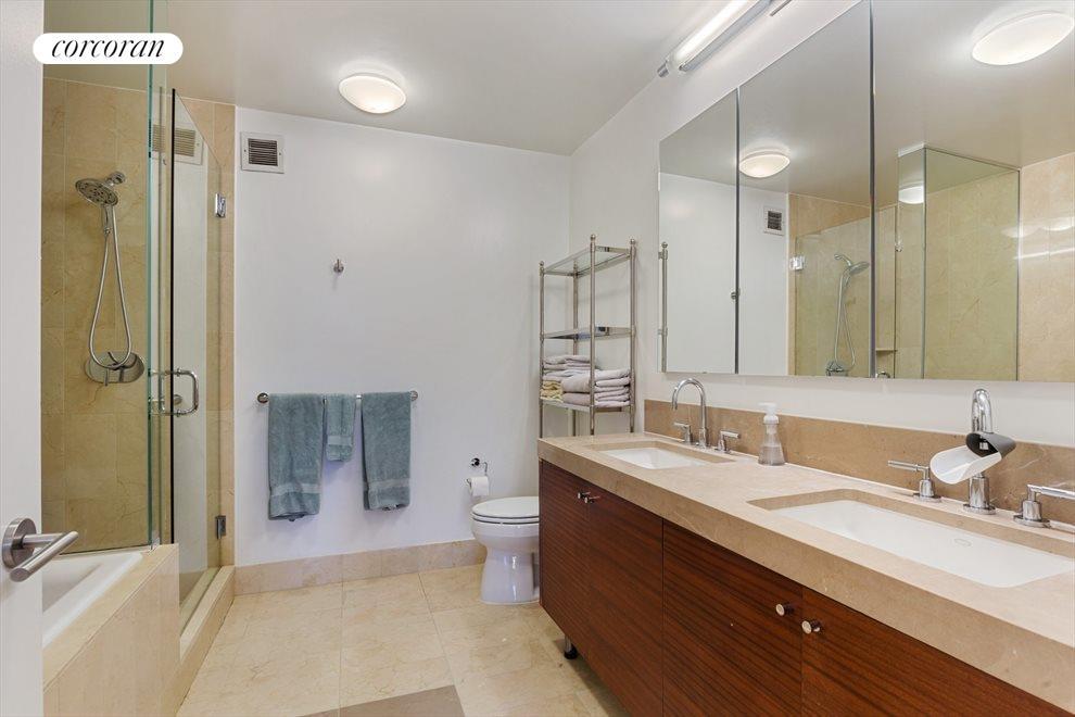 Marble Master Bathroom