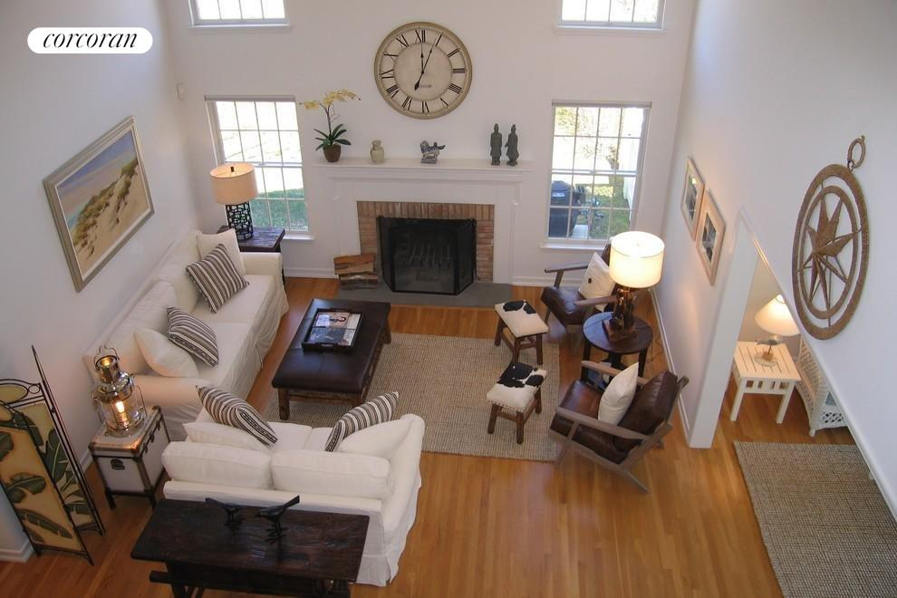 Living Room from second floor view