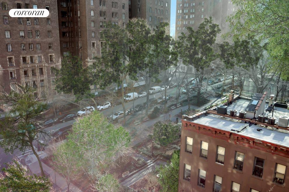 New York City Real Estate | View 333 East 43rd Street, #801 | Park View from Master Bedroom