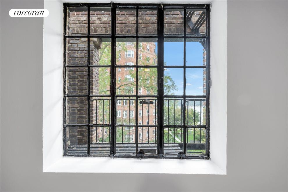 New York City Real Estate | View 116 PINEHURST AVE, #R41 | View from the master bedroom