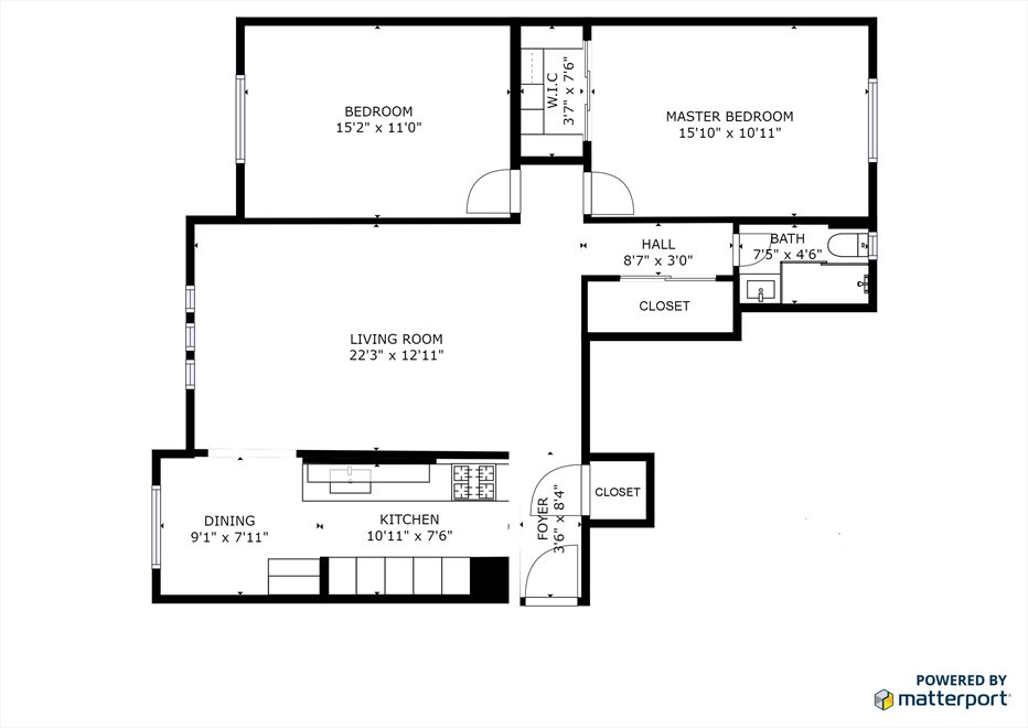 New York City Real Estate | View 116 PINEHURST AVE, #R41 | Floorplan