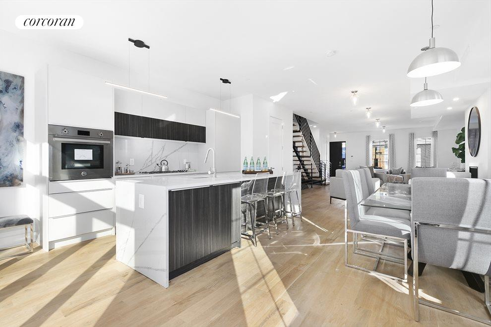New York City Real Estate | View 202 North 8th Street | Sun streaming into the kitchen on a warm day...