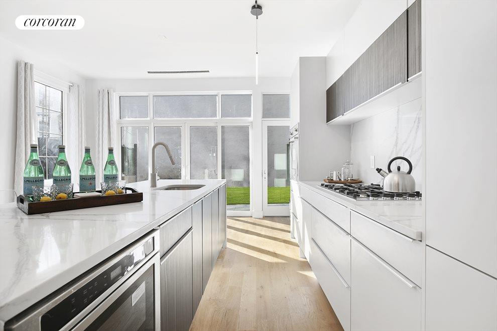 Natural light, counter space & lots of storage!