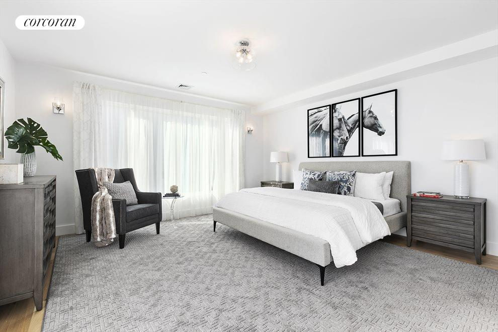 Enormous bedrooms throughout the home