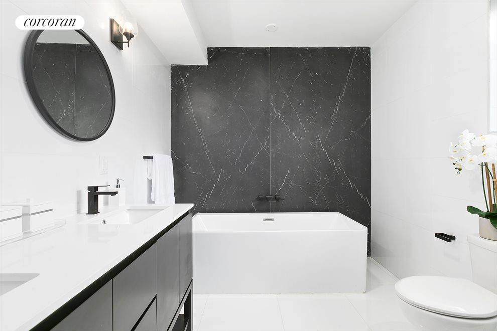 New York City Real Estate | View 202 North 8th Street | The Master Bathroom!