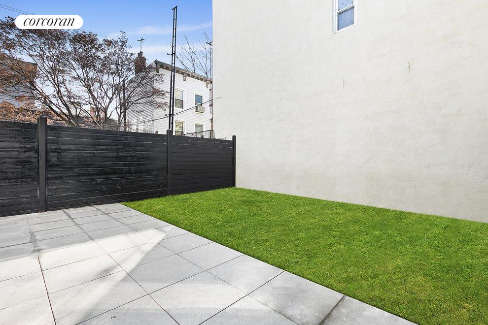 New York City Real Estate | View 202 North 8th Street | Oversized backyard!