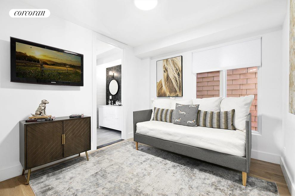 New York City Real Estate | View 202 North 8th Street | Use it for a day bed, as a home office or bedroom.