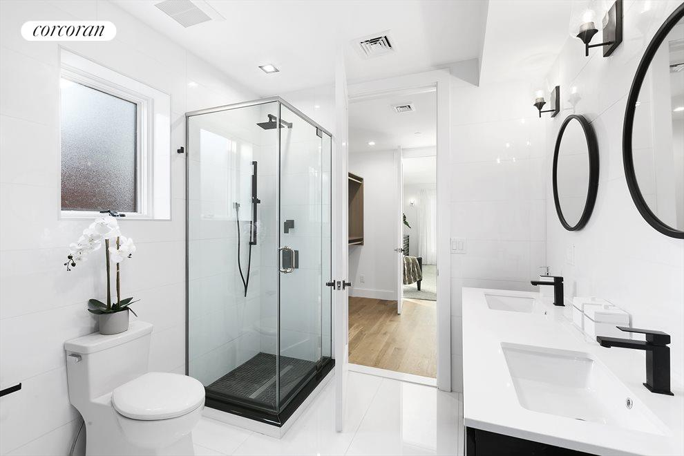 New York City Real Estate | View 202 North 8th Street | Master Bathroom with double sinks!