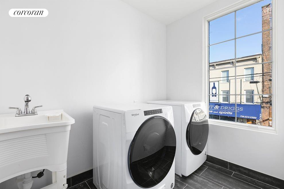 New York City Real Estate | View 202 North 8th Street | A WHOLE LAUNDRY ROOM!!!