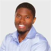 Ayoola Abudu, a top real estate agent in New York City for Corcoran, a real estate company in East Side.