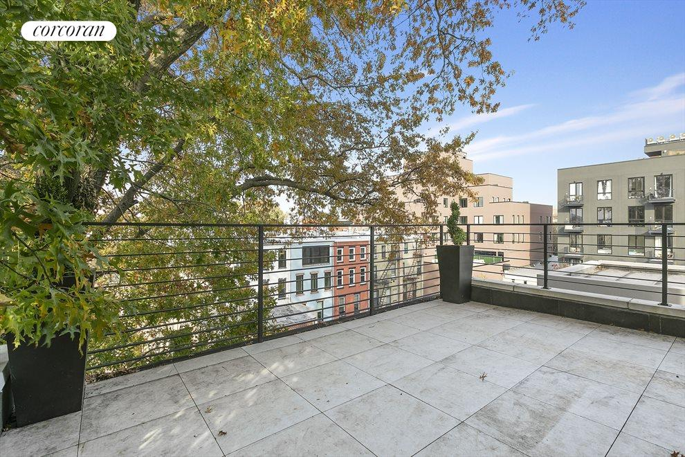 Private roof deck with Manhattan views!