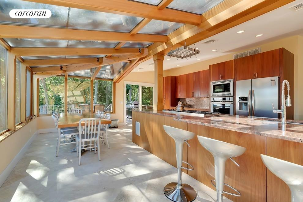 KITCHEN WITH SKY VIEWS