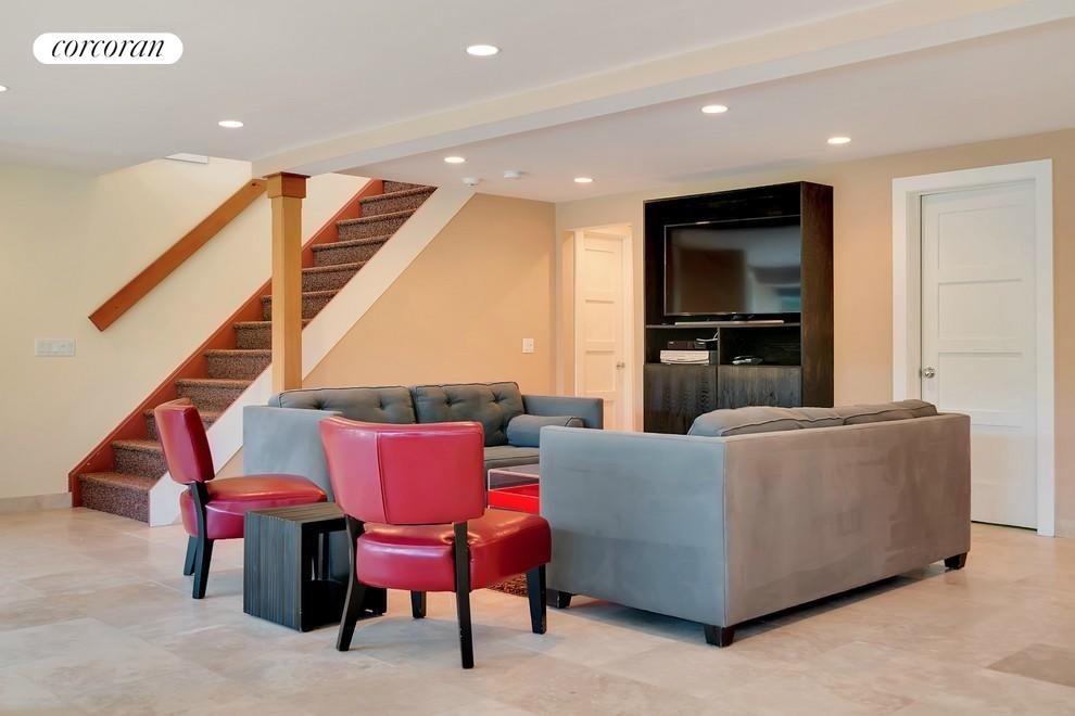 LOWER LEVEL LIVING SPACE