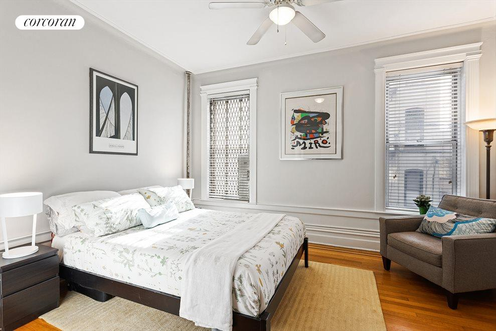 south facing master bedroom