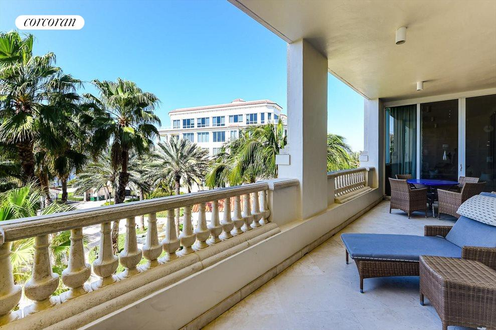 Balcony with Intracoastal View