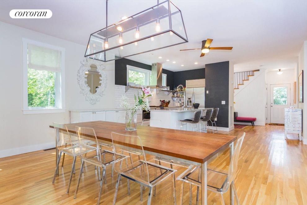 Open dining / kitchen