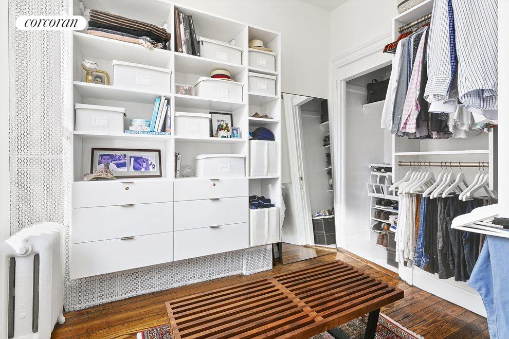 Closet, home office, den, or baby's room