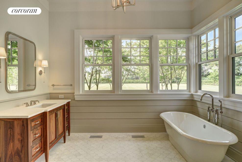 1st floor master suite - her bathroom