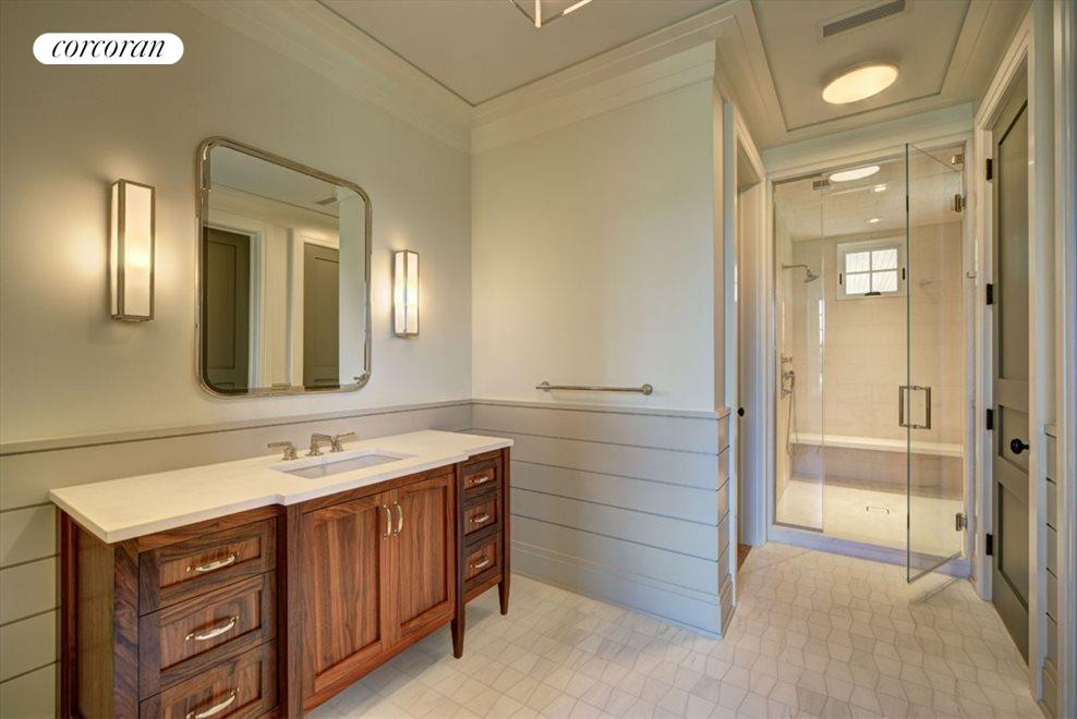 1st floor master suite - his bathroom