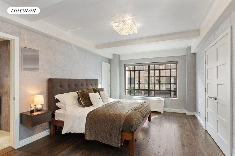 New York City Real Estate | View 10 Park Avenue, #3AB | Master Bedroom
