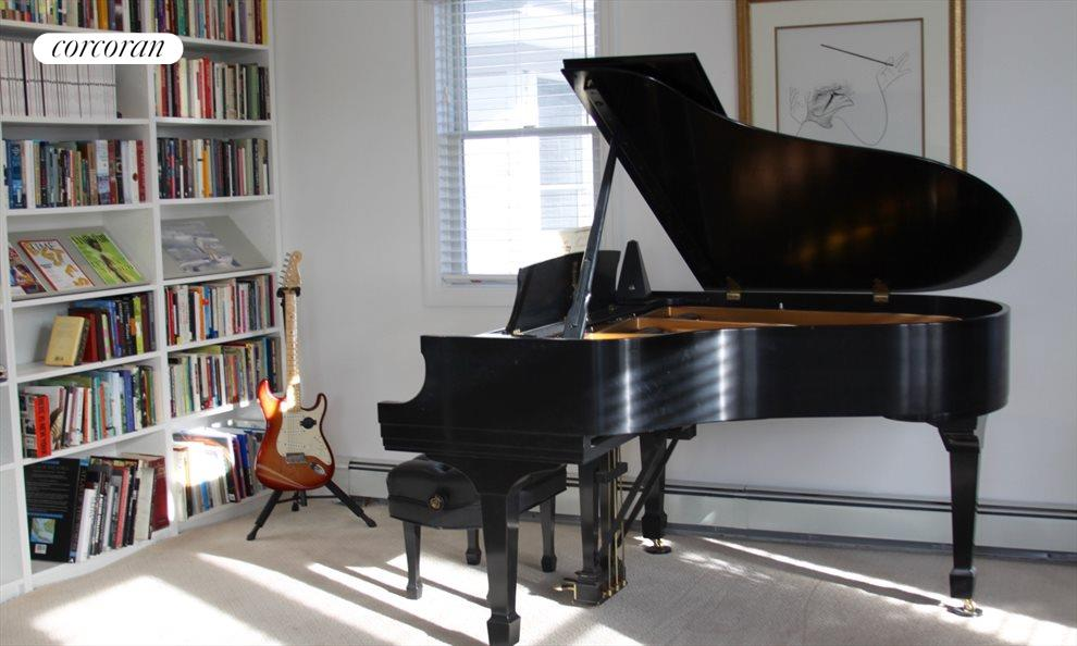library grand piano