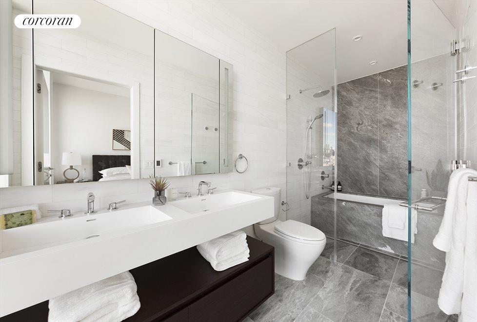 Windowed Master Bath