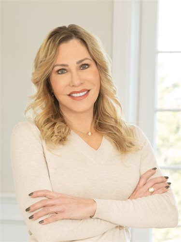Allyson Braun, a top realtor in The Hamptons for Corcoran, a real estate firm in Westhampton Beach.