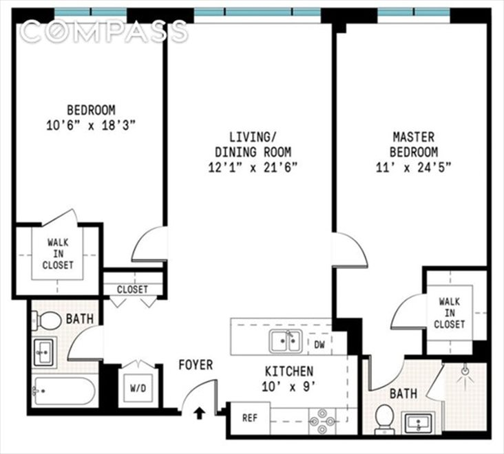 New York City Real Estate | View Washington Avenue | Floorplan