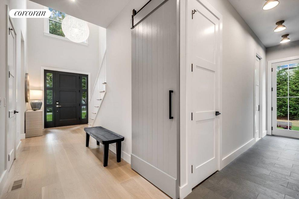 Double Height Entry and Mudroom