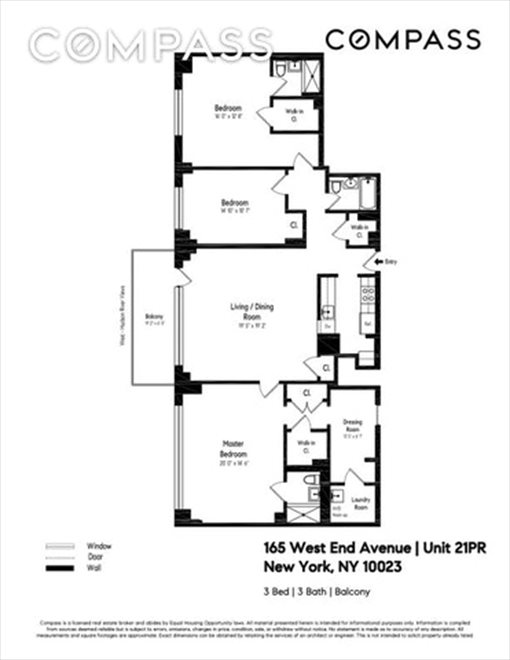 New York City Real Estate | View West End Avenue | Floorplan