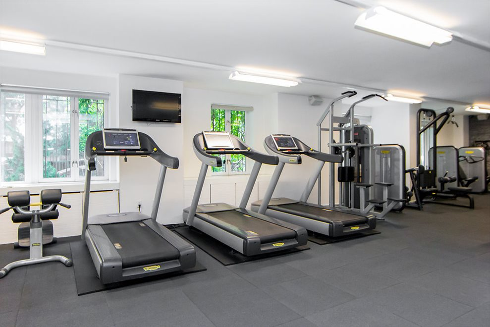 New York City Real Estate | View 333 RECTOR PLACE, #411 | Fitness Center