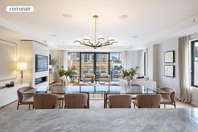 New York City Real Estate | View 124 West 16th Street, #10W | 3 Beds, 3 Baths