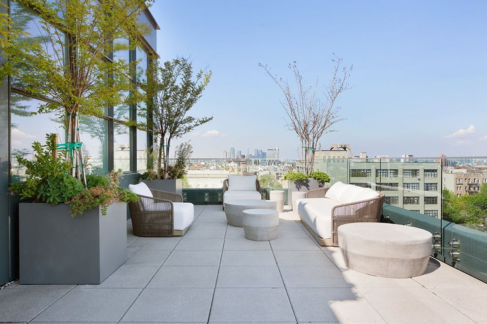 common roof terrace
