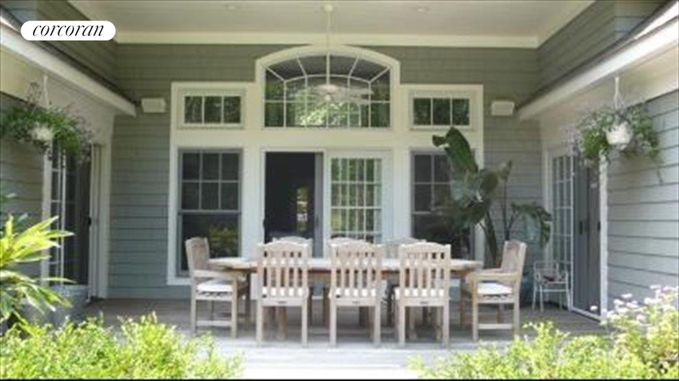 Covered Porch for Dining