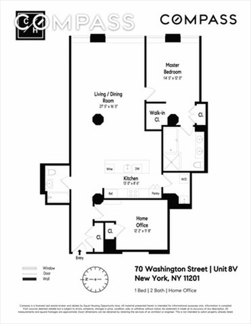 New York City Real Estate | View Washington Street | Floorplan