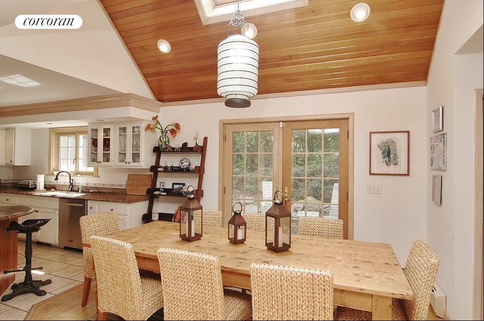 Dining Area/French Doors Leading to Patio