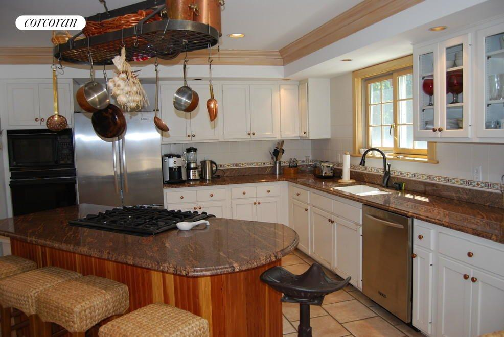 Sunny Kitchen with Center Island