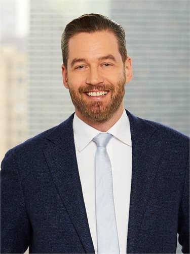 Patrick Smith, a top realtor in New York City for Corcoran, a real estate firm in Long Island City.