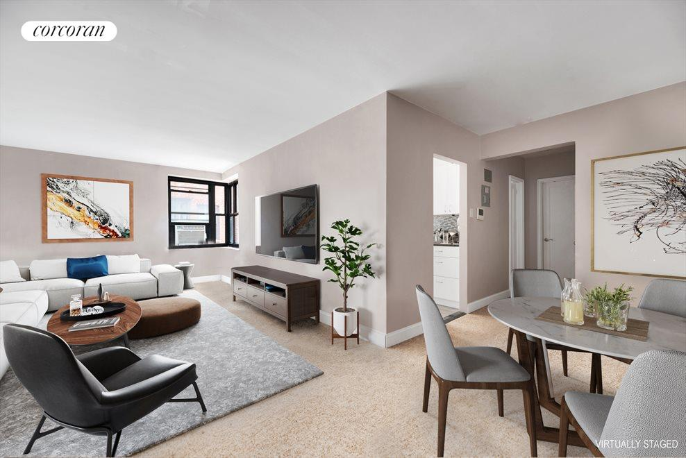 New York City Real Estate | View 32-22 89th Street, #E402 | 1 Bed, 1 Bath