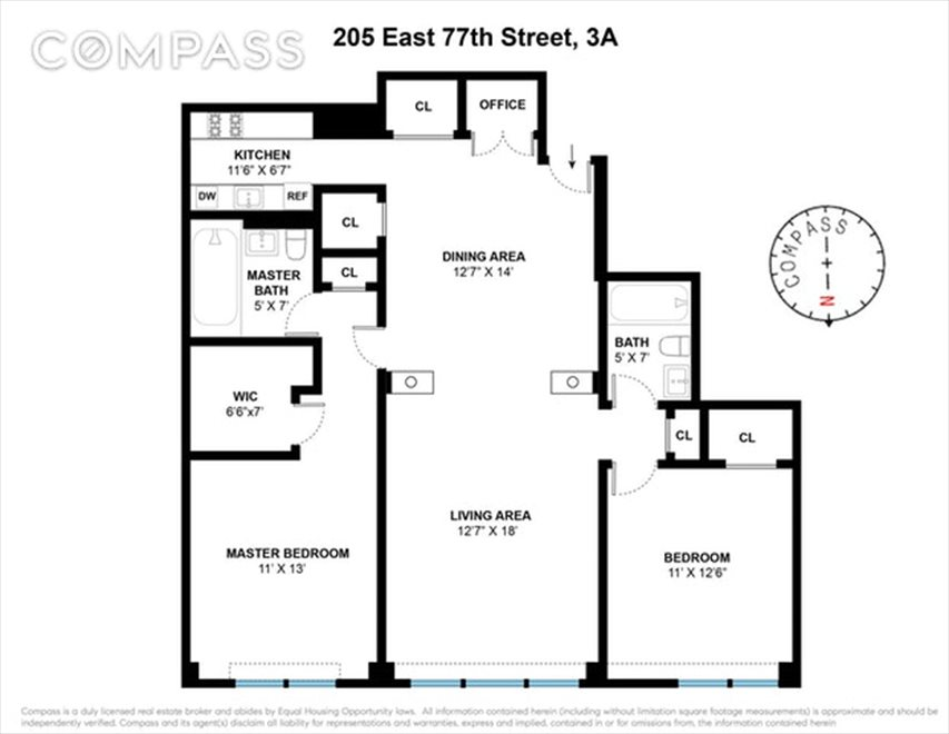 New York City Real Estate | View East 77th Street | Floorplan
