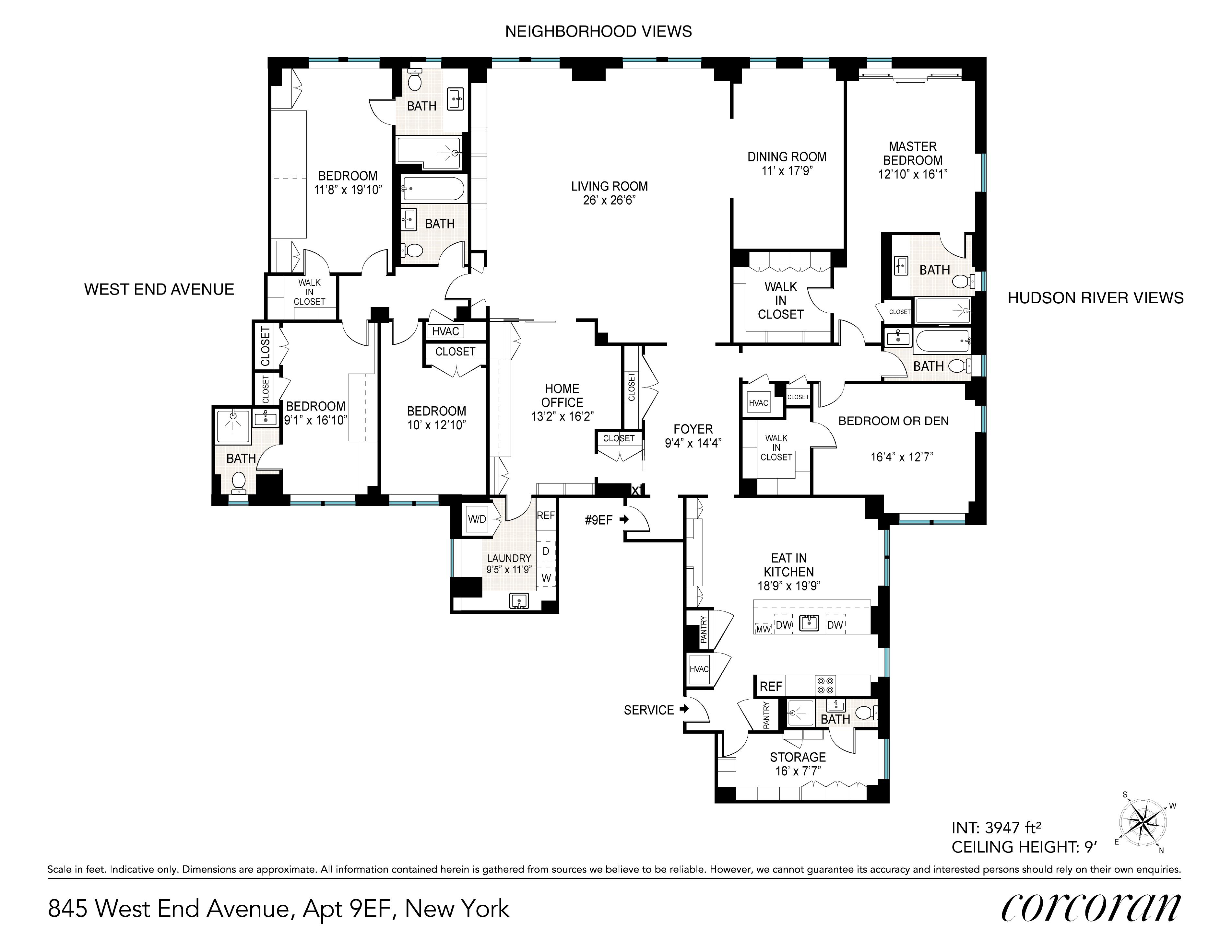 845 West End Avenue Upper West Side New York NY 10025