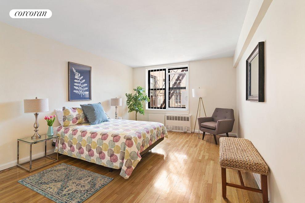 New York City Real Estate | View 330 Lenox Road, #7H | King-size bedroom
