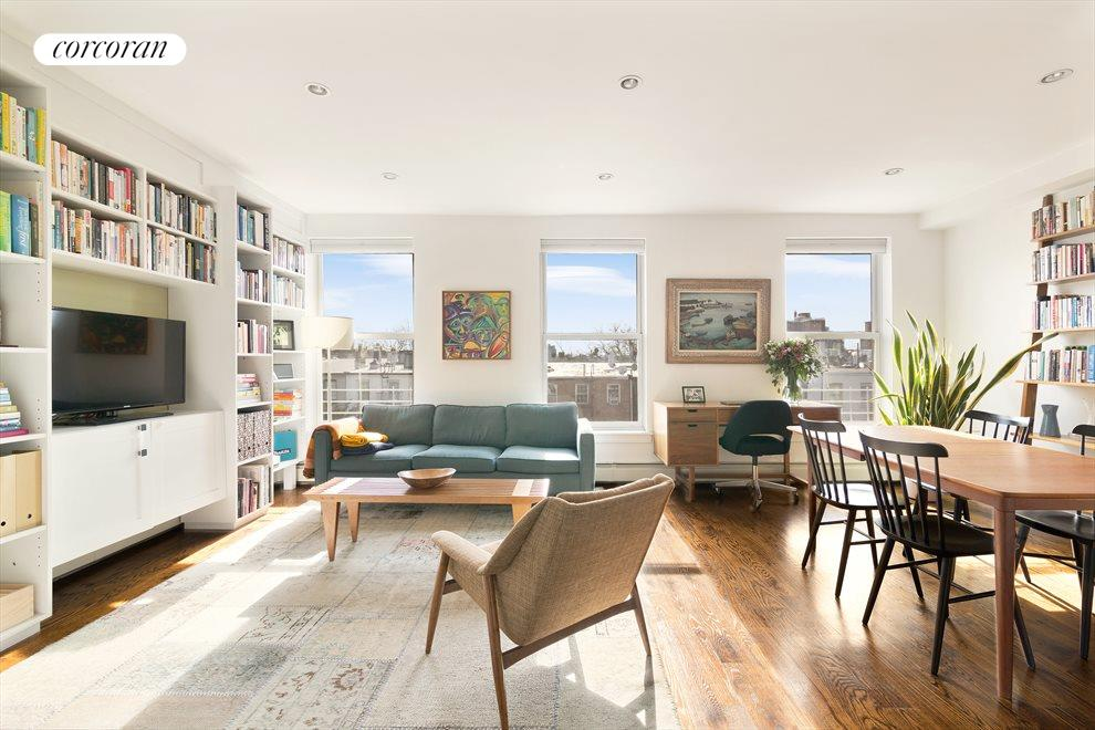 New York City Real Estate | View 402 Pacific Street, #4 | 2 Beds, 1 Bath