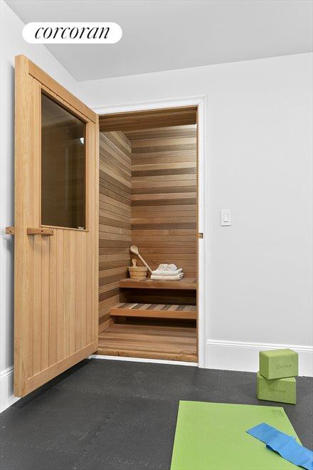 Sauna and Yoga Room