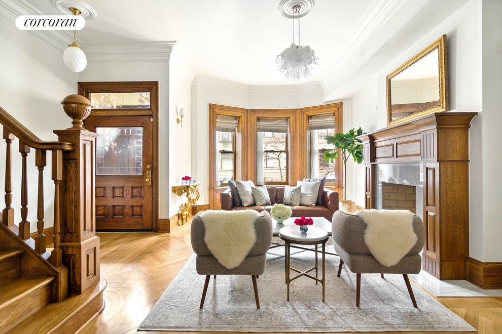 New York City Real Estate | View 44 Montgomery Place | Living Room
