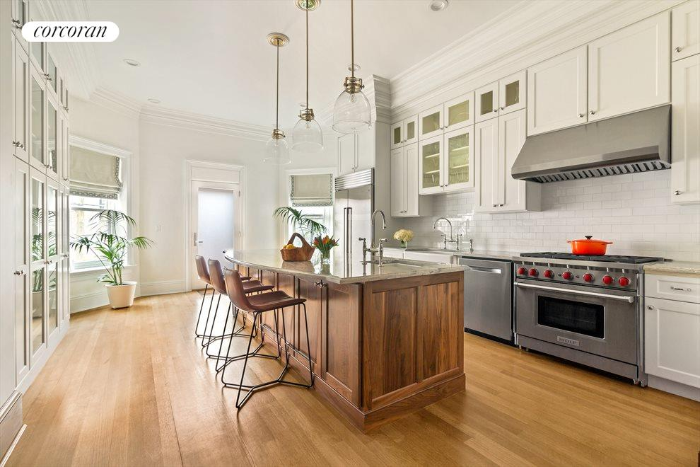 New York City Real Estate | View 44 Montgomery Place | Chefs Kitchen