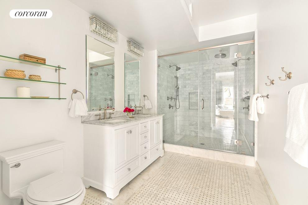 New York City Real Estate | View 44 Montgomery Place | Master Bathroom